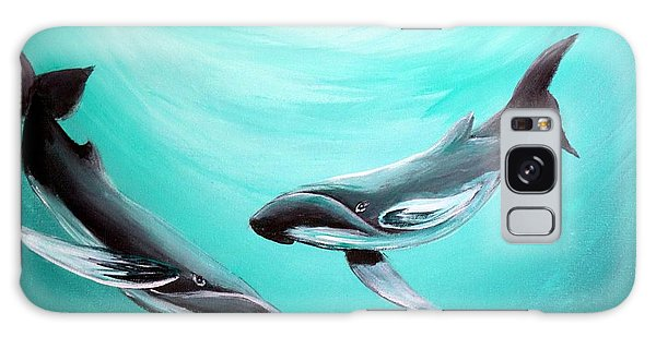 Whales Galaxy Case