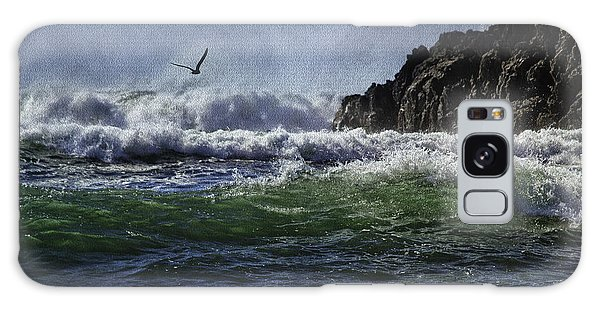 Whales Head Beach Southern Oregon Coast Galaxy Case by Diane Schuster