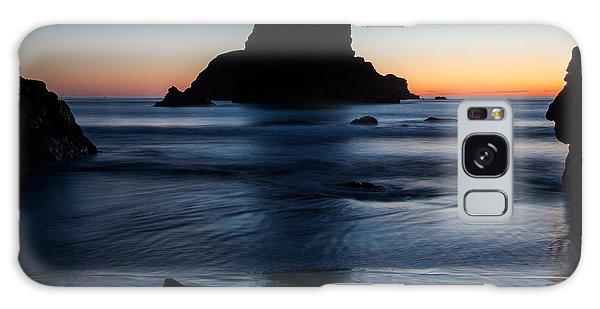 Whaleshead Beach Sunset Galaxy Case