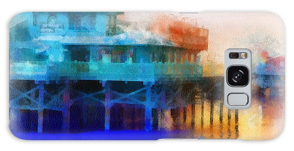 Wharf Color Galaxy Case by Barbara R MacPhail