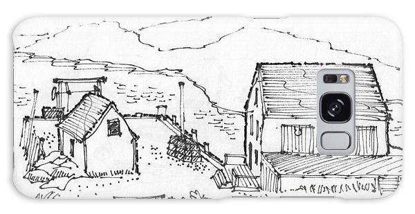 Wharf On Monhegan Island 1993 Galaxy Case