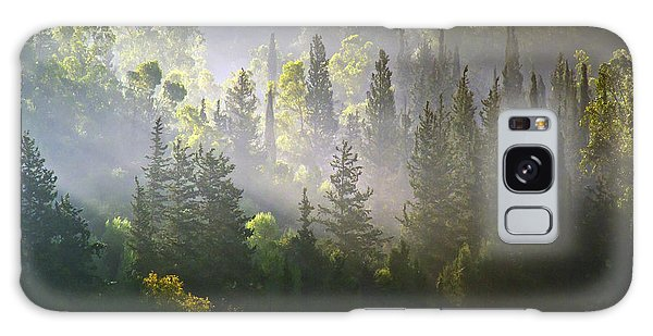 What A Misty Morning Galaxy Case