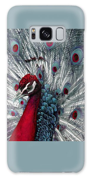What If - A Fanciful Peacock Galaxy Case by Ann Horn