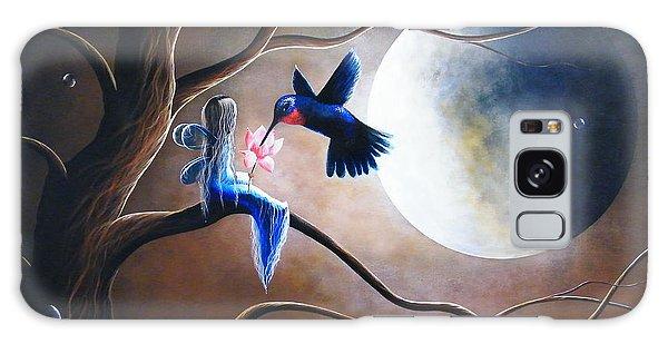 Hummingbird Galaxy S8 Case - What Love Looks Like By Shawna Erback by Erback Art