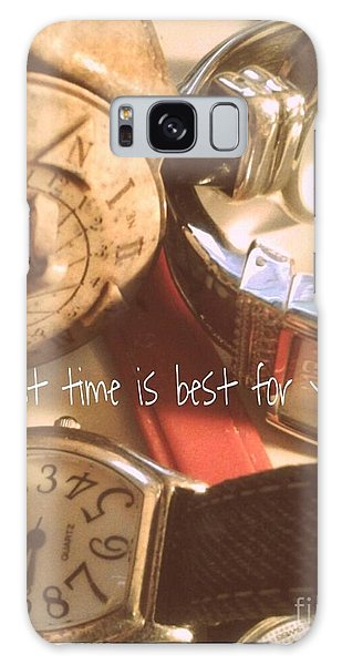 What Time Is Best Galaxy Case by Susan Townsend