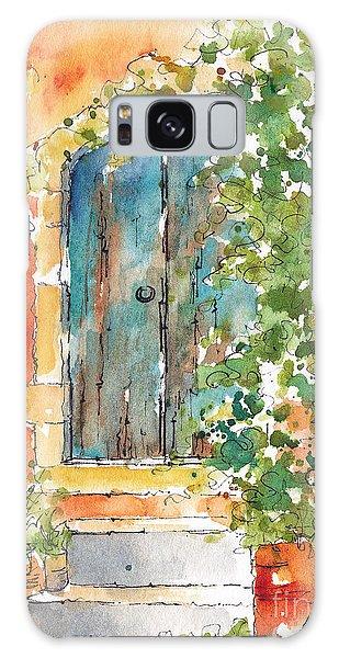 What's Behind That Door? Galaxy Case by Pat Katz