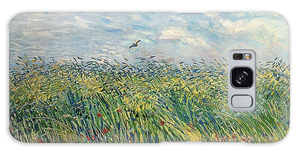 Impressionism Galaxy Case - Wheatfield With Lark by Vincent van Gogh