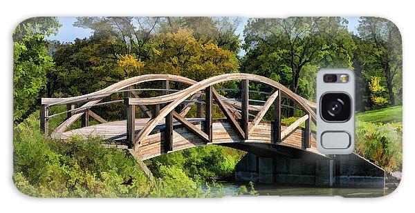Wheaton Northside Park Bridge Galaxy Case