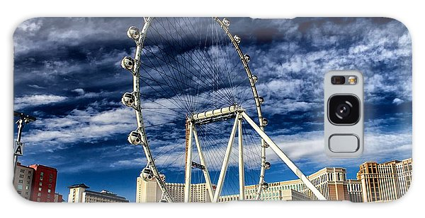 Wheel In The Sky Las Vegas Galaxy Case by Michael Rogers