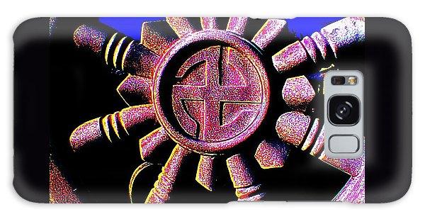 Buddhist Dharma Wheel 1 Galaxy Case by Peter Gumaer Ogden