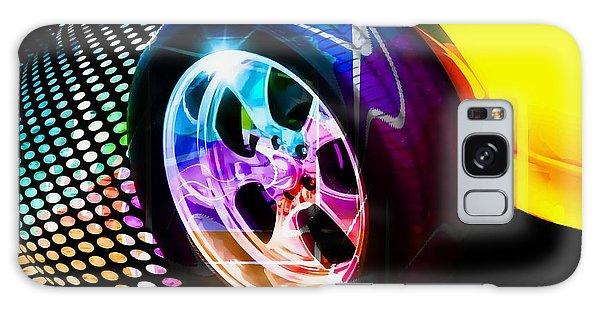 Wheeled Galaxy Case by Aaron Berg