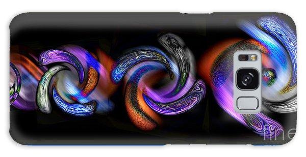 Wheels In Motion Galaxy Case by Sue Stefanowicz