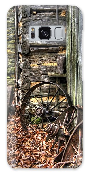 Wheels Of Time Galaxy Case by Benanne Stiens