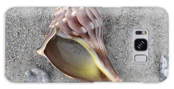 Whelk With Sand Galaxy Case by Ellen Meakin