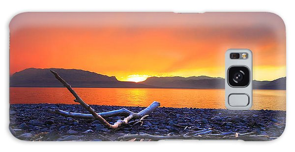 When Evening Gilds The Skies Galaxy Case