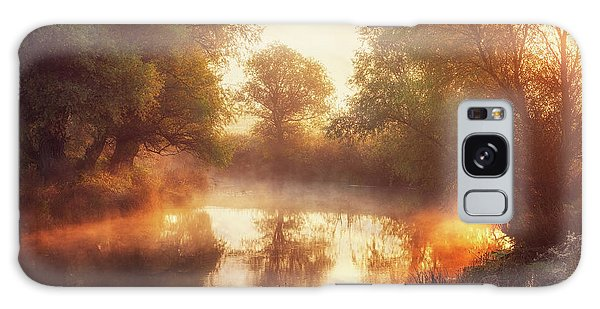 River Galaxy Case - When Nature Paints With Light II by Leicher Oliver