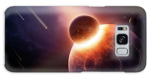 Earth Galaxy Case - When Planets Collide by Johan Swanepoel