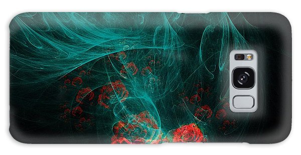 Imagery Galaxy Case - When The Smoke Clears They Bloom by Elizabeth McTaggart