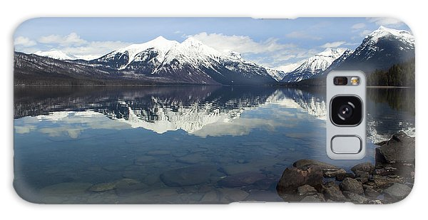 When The Sun Shines On Glacier National Park Galaxy Case