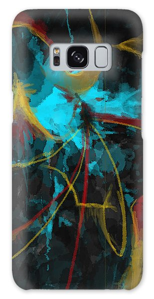 Where Do I Go From Here? Galaxy Case by Constance Krejci