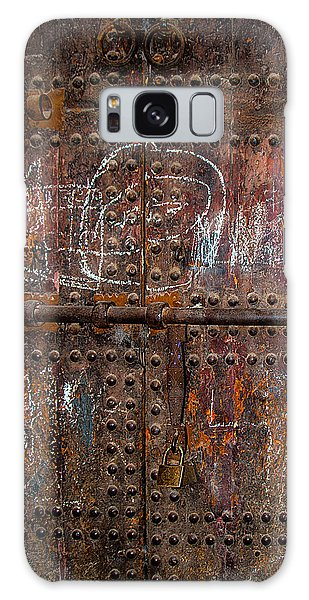 Marrakech Door Galaxy Case