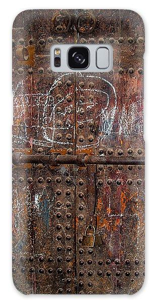 Marrakech Door Galaxy Case