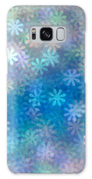 Where Have All The Flowers Gone Galaxy Case by Dazzle Zazz