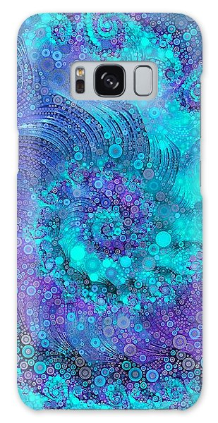 Where Mermaids Play Galaxy Case