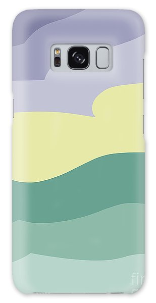 Where Sea Meets Sky Galaxy Case