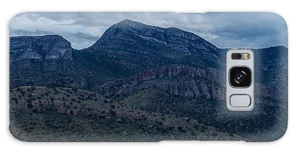 Galaxy Case featuring the photograph Whetstone Mountain Dusk by Beverly Parks