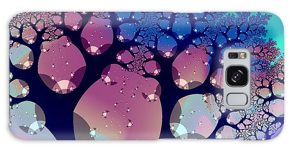 Whimsical Forest Galaxy Case