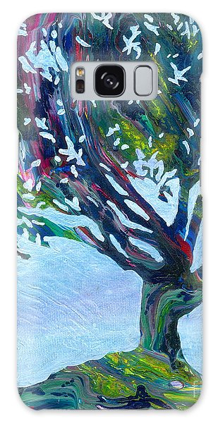 Whimsical Tree Galaxy Case