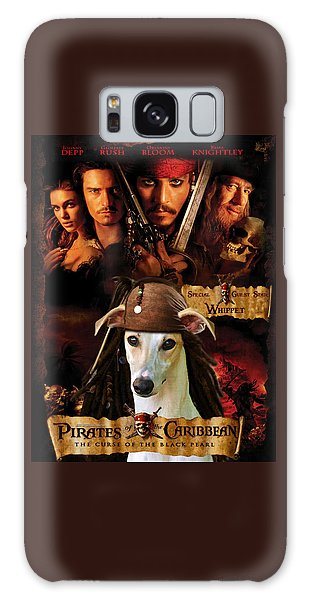 Whippet Art - Pirates Of The Caribbean The Curse Of The Black Pearl Movie Poster Galaxy Case