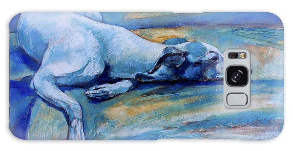 Sighthound Galaxy Case - Whippet-effects Of Gravity-6 by Derrick Higgins