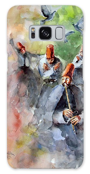 Whirling Dervishes And Pigeons         Galaxy Case