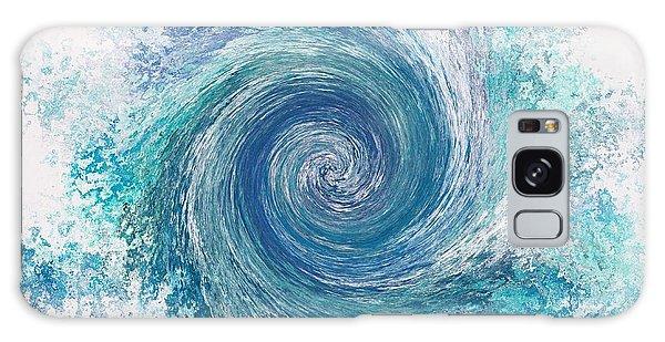 Whirlwind In Blue Galaxy Case