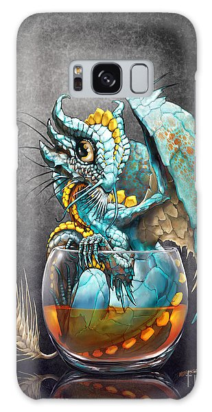 Dragon Galaxy S8 Case - Whiskey Dragon by Stanley Morrison
