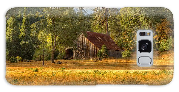 Whiskeytown Barn Galaxy Case by Randy Wood