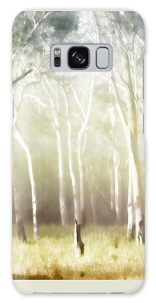 Galaxy Case - Whisper The Trees by Holly Kempe