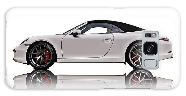 Speed Galaxy Case - White 911 by Douglas Pittman