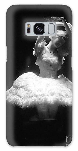 White Ballerina Galaxy Case