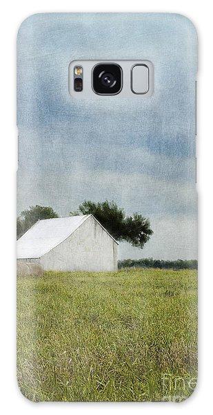White Barn Galaxy Case by Elena Nosyreva