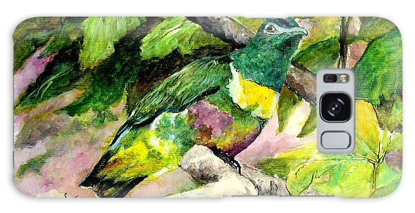White-bibbed Fruit Dove  Galaxy Case