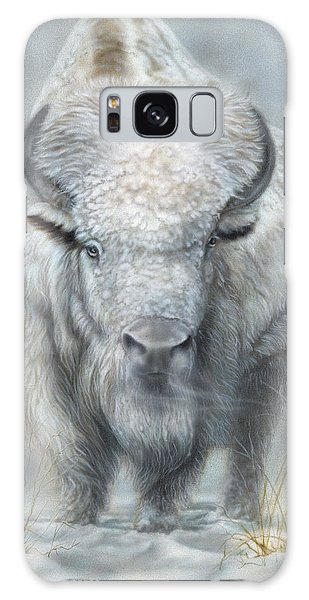White Buffalo Galaxy Case