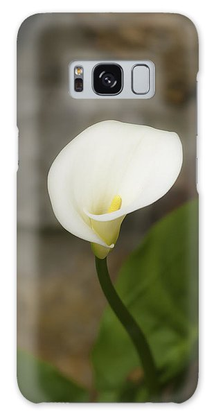 White Calla Lily 2 Galaxy Case