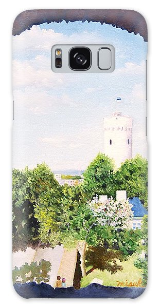 White Castle In Tallinn Estonia Galaxy Case