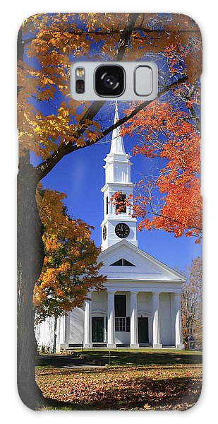 White Church Galaxy Case