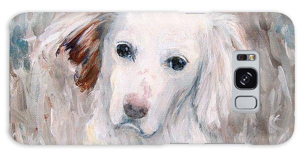 White Dog # 2 Galaxy Case