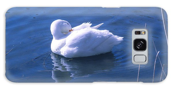 White Duck Galaxy Case