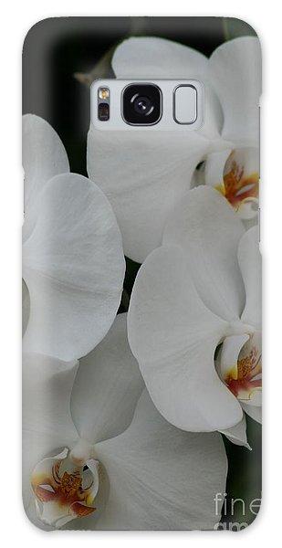 White Elegance Galaxy Case by Mary Lou Chmura